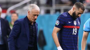 Malgré son doublé contre la Suisse, Karim Benzema n'a pu empêcher l'élimination des Bleus à l'Euro.