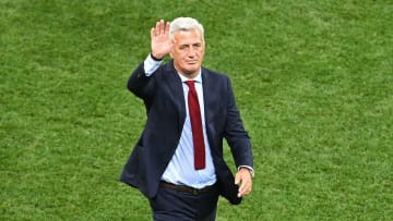 Vladimir Petkovic lors du match France-Suisse à l'Euro 2020.