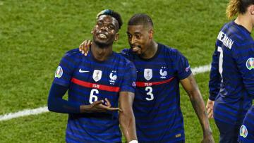 Pogba dopo il gol con la Svizzera