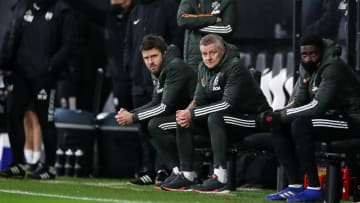 Solskjaer will be without some of his coaches on Sunday