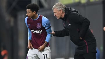 David Moyes won't be able to call on Jesse Lingard