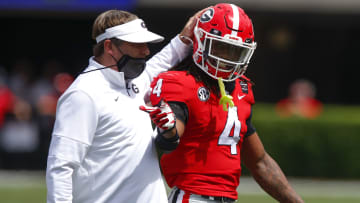 Kirby Smart will try to lead the Georgia Bulldogs back to the SEC Championship game in 2021.