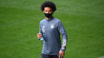 Leroy Sane's currently out on international duty with the German national team