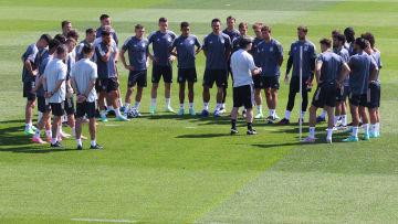 Bereitmachen für Spiel zwei: Das DFB-Team muss gegen Portugal einige Dinge verbessern.