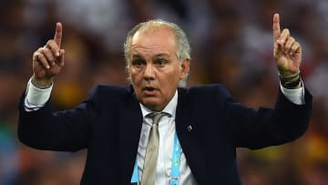 Alejandro Sabella is in intensive care with a suspected heart problem