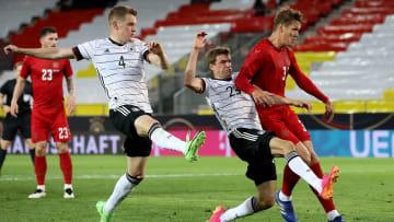 Deutschland kam gegen Dänemark nicht über ein 1:1-Remis hinaus
