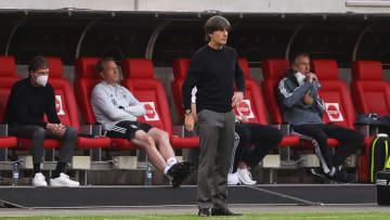 Joachim Löw zeigte sich nach dem Spiel zufrieden