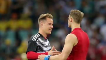 Von ihnen wird morgen viel abhängen: Marc-André Ter Stegen und Manuel Neuer