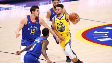 Golden State Warriors y Denver Nuggets jugarán esta noche