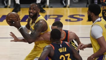 Golden State Warriors v Los Angeles Lakers - Play-In Tournament