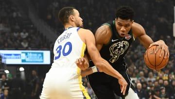 Warriors y Bucks jugarán en el cierre de la jornada del martes