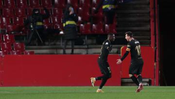 Lionel Messi, Samuel Umiti