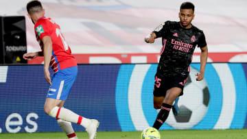 Rodrygo marcou um dos gols da equipe merengue