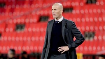 Zinedine Zidane, durante el partido contra el Granada
