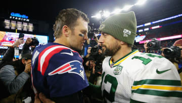 Tom Brady and Aaron Rodgers