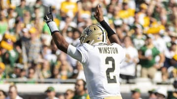In his first game with the New Orleans Saints, Jameis Winston accomplished something that Drew Brees never did in New Orleans.