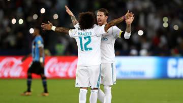 Ramos y Marcelo son dos de los jugadores con más títulos en el Madrid