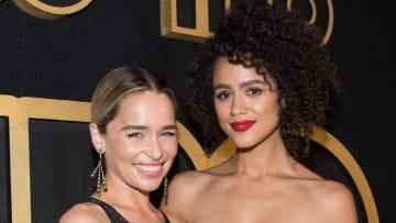 'Game of Thrones' alum Nathalie Emmanuel says Emilia Clarke always had her back.