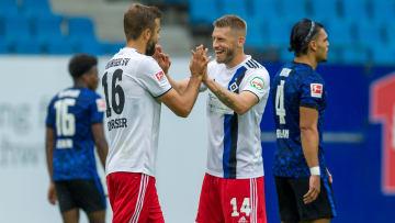 Nach der geglückten Generalprobe gegen Hertha BSC wartet das erste Pflichtspiel auf den HSV