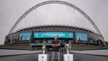 EURO 2020'de final maçının oynanacağı Wembley Stadyumu