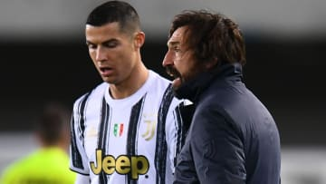 Pirlo has spoken up on Ronaldo's position in the Juventus wall during free-kicks