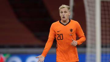 Donny Van de Beek absent pour l'Euro