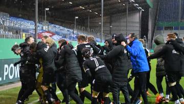 Holstein Kiel bezwang im Achtelfinale den FC Bayern