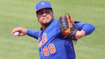 Betances trabajó un inning con los Mets antes de lesionarse
