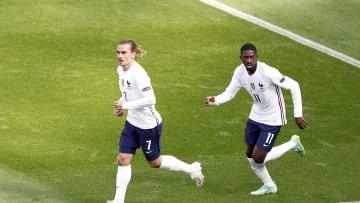 Griezmann marcó el gol del empate