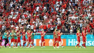 Contre le Portugal, plus de 60 000 spectateurs étaient présents à Budapest.