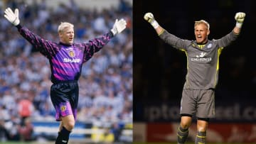 Peter & Kasper Schmeichel have both played in the Premier League