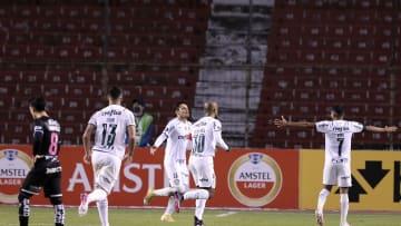 Independiente del Valle v Palmeiras - Copa CONMEBOL Libertadores 2021 - Palmeiras, único equipo con puntaje perfecto.