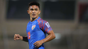 Sunil Chhetri is the most recognisable football player in India