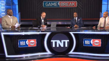 Shaquille O'Neal, Ernie Johnson, Kenny Smith, Charles Barkley