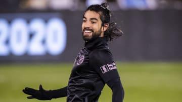 Rodolfo Pizarro y el Inter Miami esperan arrancar con el pie derecho la temporada 2021.