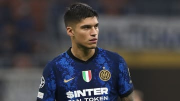 Joaquin Correa will miss Inter's clash with Fiorentina this week