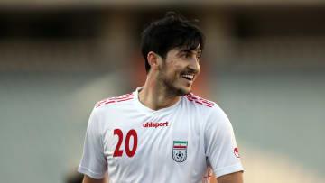 Azmoun on international duty with Iran