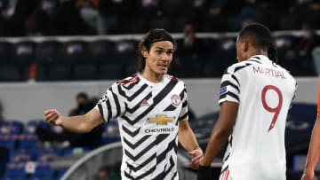 Both Cavani and Martial have been struggling for goals of late