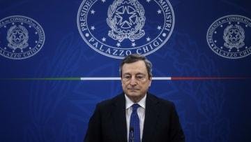 Il Premier Mario Draghi