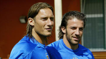 Francesco Totti and Alessandro Del Piero are among two of the greatest Italian players in their history