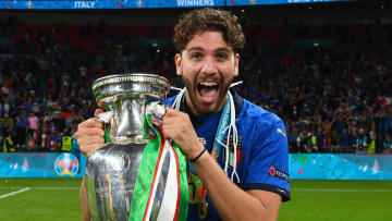 Locatelli se destacou pela Itália na Eurocopa