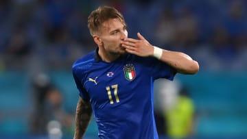 Immobile has scored twice already at Euro 2020