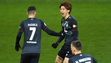 Werder Bremen zieht ins Pokal-Halbfinale ein