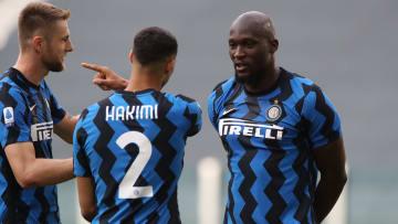 Les départs d'Hakimi et Lukaku ont rapporté gros à l'Inter Milan.