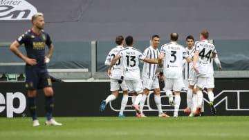 Juventus menang 3-1 saat bertemu Genoa, Minggu (11/4)