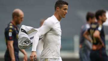 Juventus to punish ball boy who took Ronaldo's jersey after it was thrown on the ground