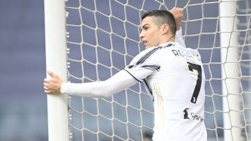 Ronaldo não estava feliz mesmo com o placar favorável à Juventus
