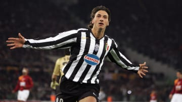 Juventus Swedish forward Zlatan Ibrahimo