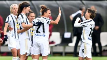 I festeggiamenti della Juventus