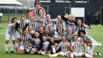 La festa della Juventus